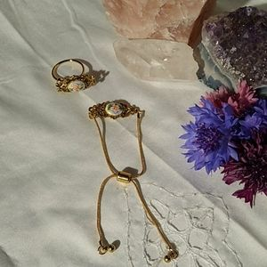 Jewelry - A Darling Bracelet and Ring Set